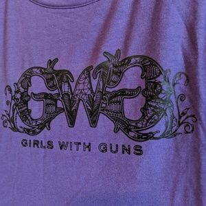 Girls With Guns Logo Tee